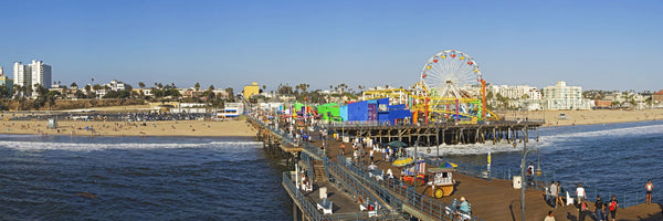 Amusement park, Santa Monica Pier, Santa Monica, Los Angeles County, California, USA