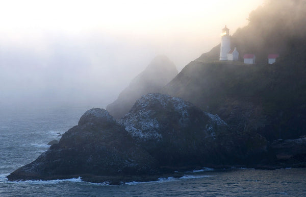 Heceta Head Lighthouse on the Oregon Coast, Oregon, USA