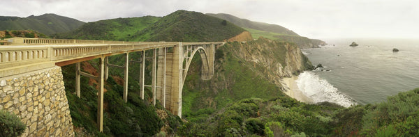 Bixby Bridge on the Big Sur coast of California, USA