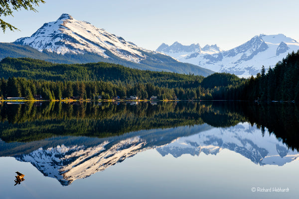 Auke Lake Reflections, Juneau, AK