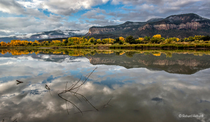 Rio Chama Reflections, New Mexico
