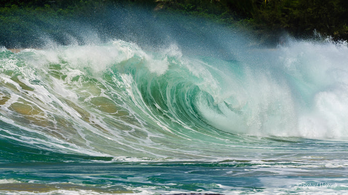 Storm-Driven Waves, North Shore, Kauai, HI