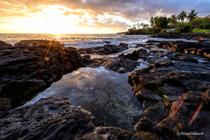Sunset, Kona Coast, Big Island, HI