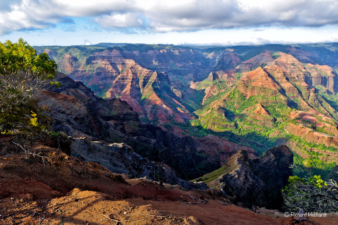 Waimea Canyon (Grand Canyon of the Pacific), Kauai, HI