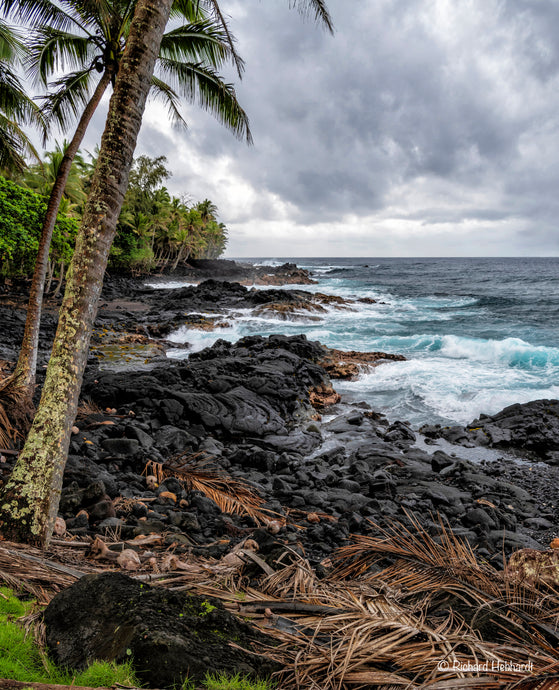 Wave-Battered Coastline, Big Island, HI