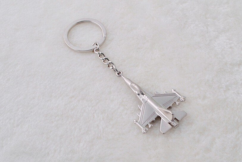 Fighter Jet Keychain