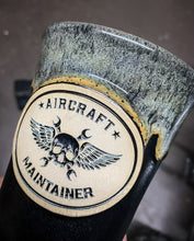 Load image into Gallery viewer, Handmade Engraved Aircraft Maintainer Mug