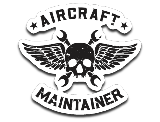 Aircraft Maintainer Sticker