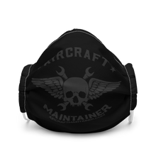 Load image into Gallery viewer, Aircraft Maintainer Facemask - Dark