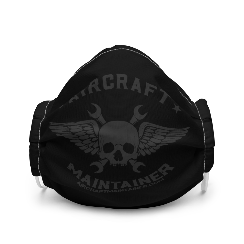 Aircraft Maintainer Facemask - Dark