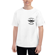 "Load image into Gallery viewer, ""Slowly Dying to Keep Them Flying"" Champion Tee"