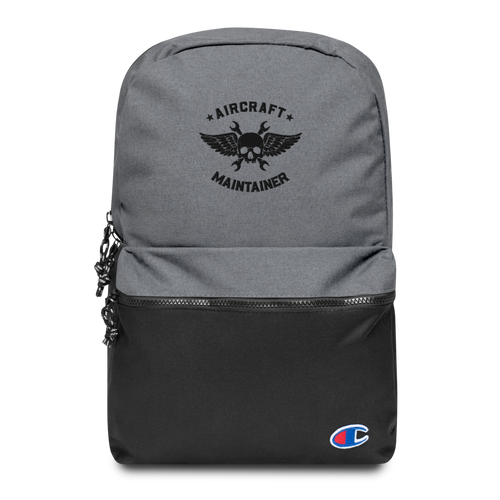 Embroidered Aircraft Maintainer x Champion Backpack