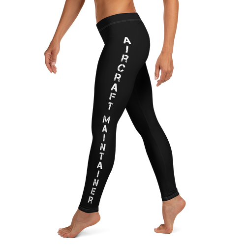 Aircraft Maintainer Woman's Leggings
