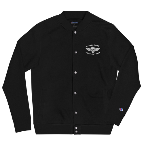 Embroidered Aircraft Maintainer x Champion Bomber Jacket