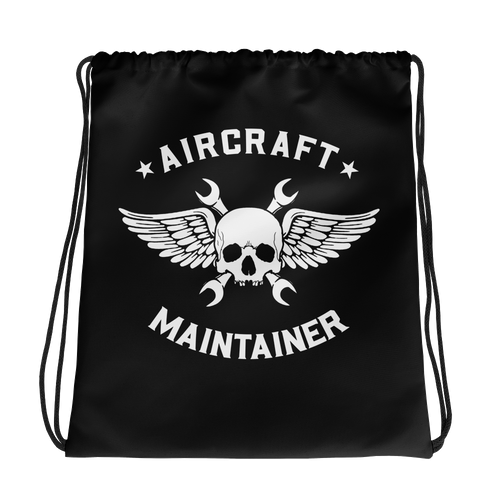Aircraft Maintainer Drawstring bag