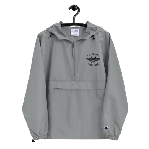 Embroidered Aircraft Maintainer x Champion Packable Jacket