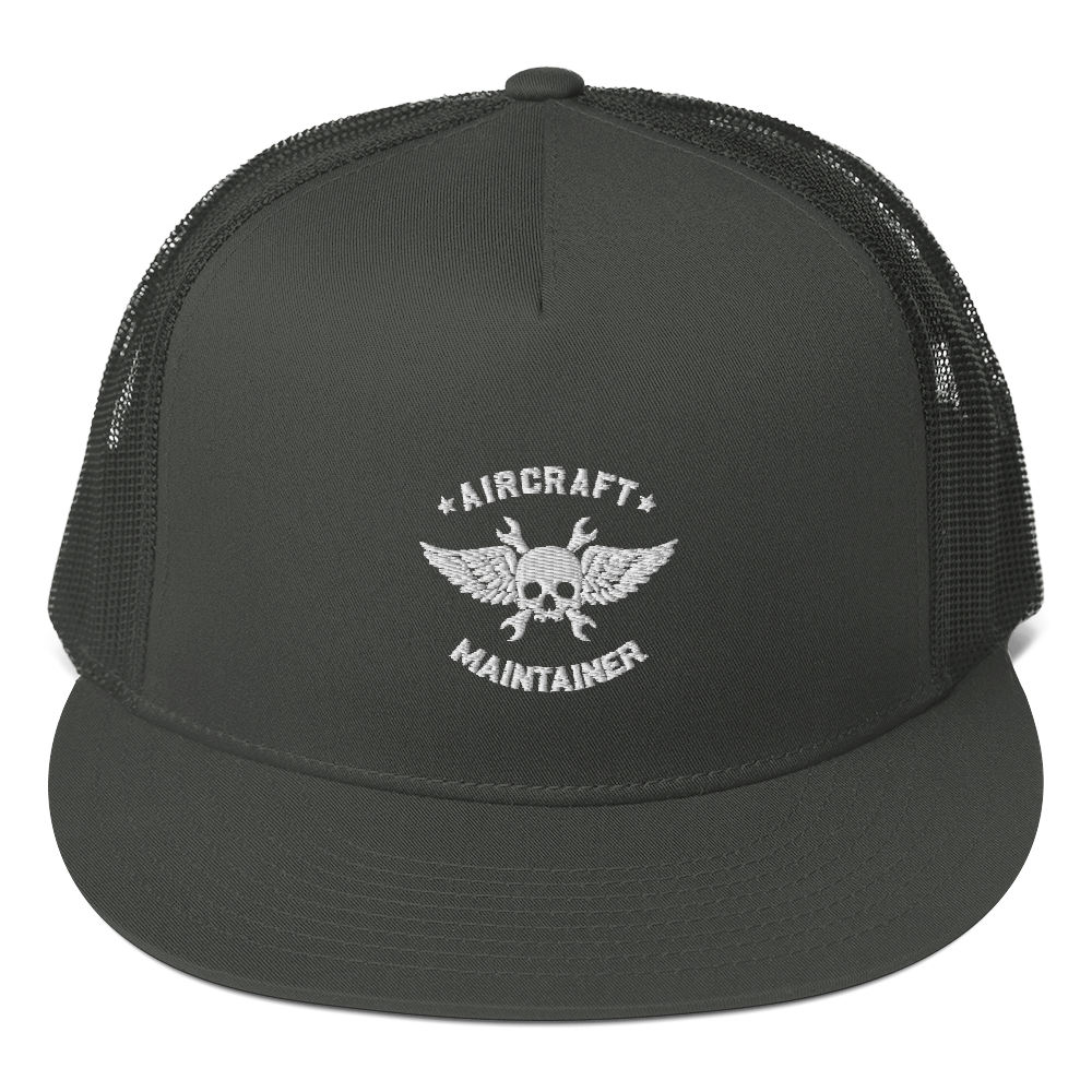 Aircraft Maintainer Mesh Back Snapback