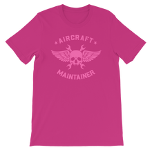 Load image into Gallery viewer, Pink Aircraft Maintainer Tee