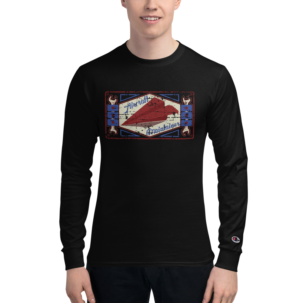 Paper Plane Champion Long Sleeve Tee