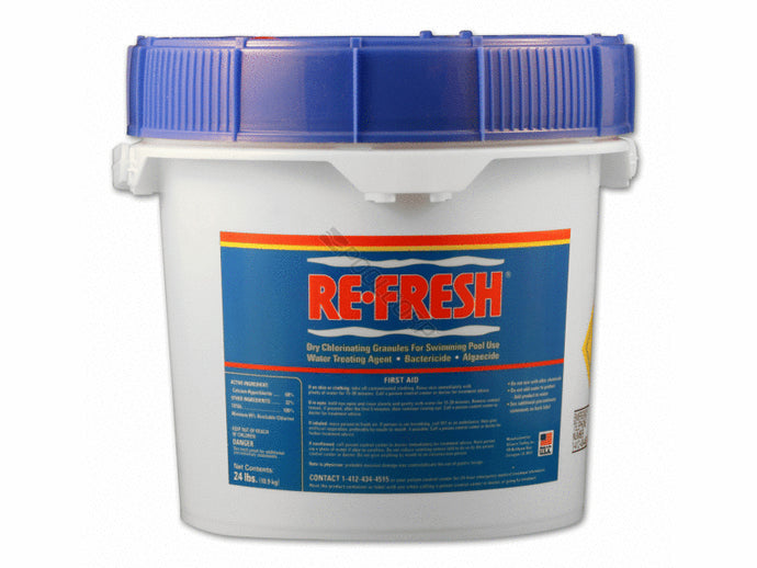 50# - Pool Shock - 68% Calcium Hypochlorite - Two 25# Buckets
