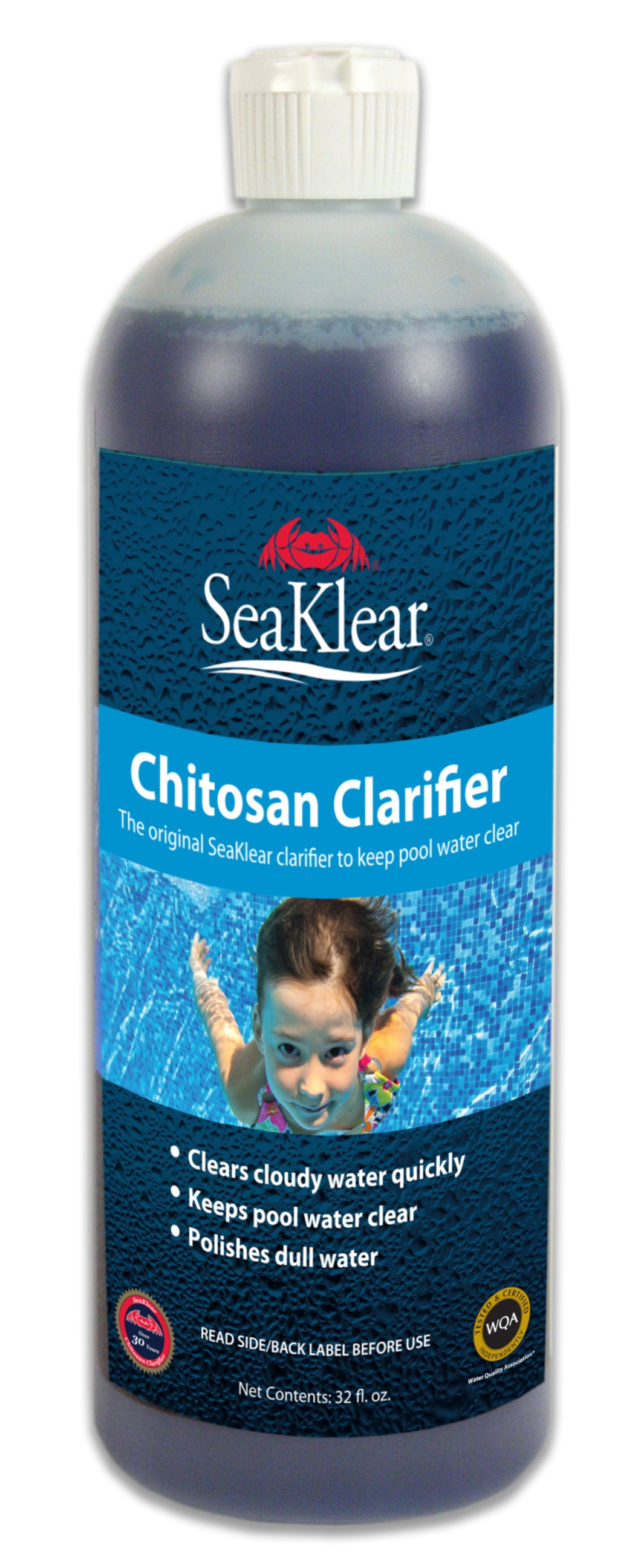 Sea Klear Natural Clarifier - Improve Filtration - Make Water Sparkle