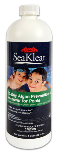 SeaKlear - 90-Day Algae Prevention and Remover - Excellent Algaecide