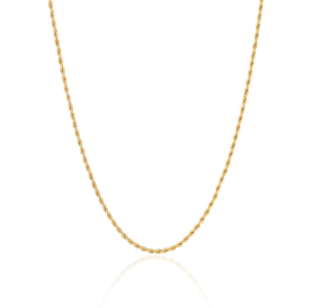 2.5MM GOLD ROPE CHAIN