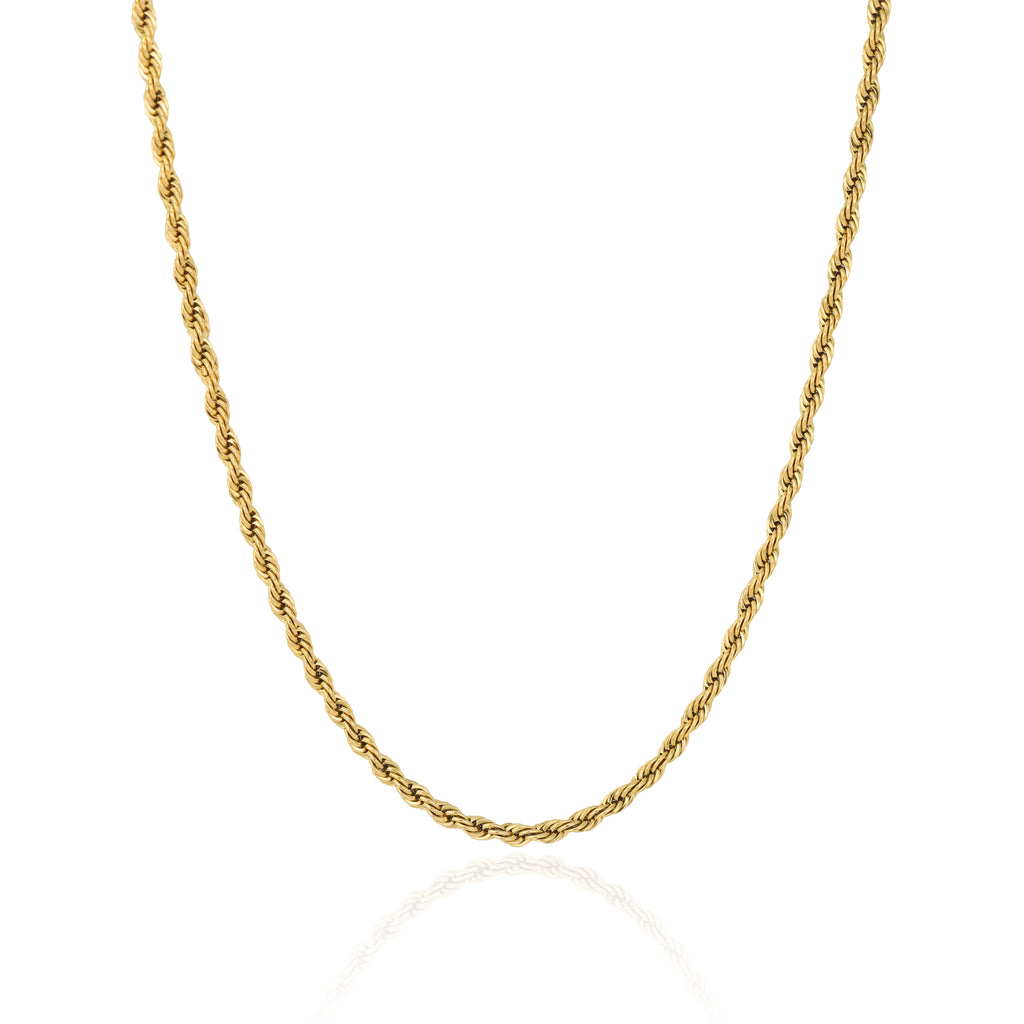 4MM GOLD ROPE CHAIN