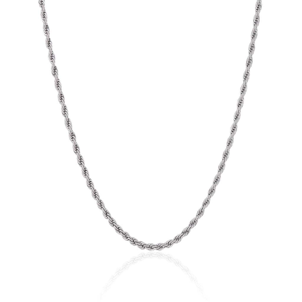 4MM SILVER ROPE CHAIN