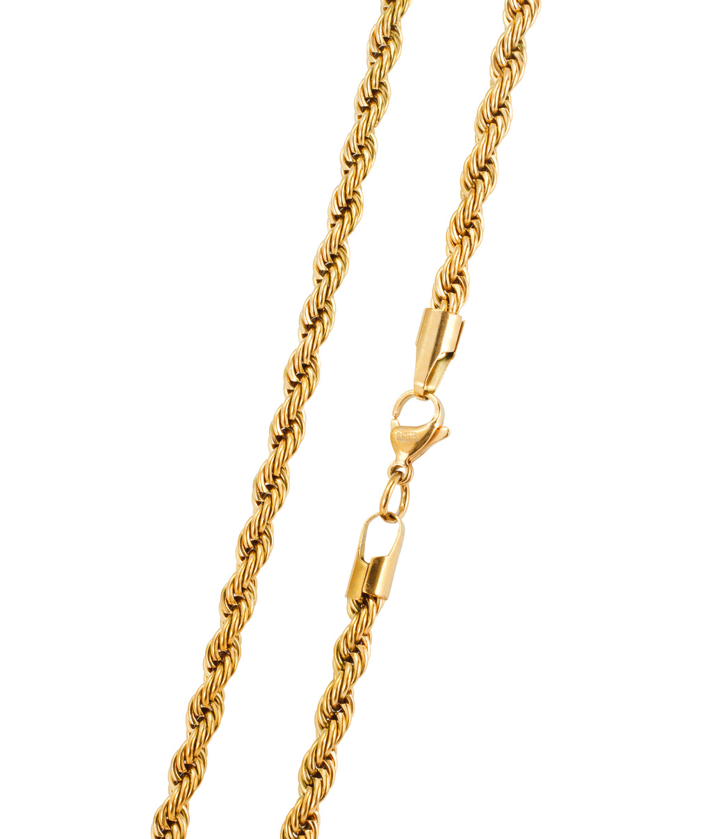 5MM GOLD ROPE CHAIN