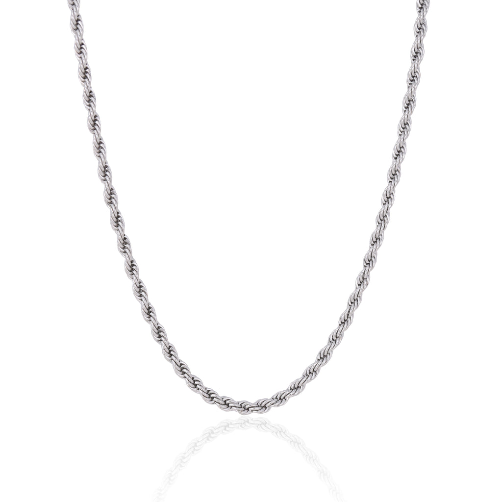5MM SILVER ROPE CHAIN