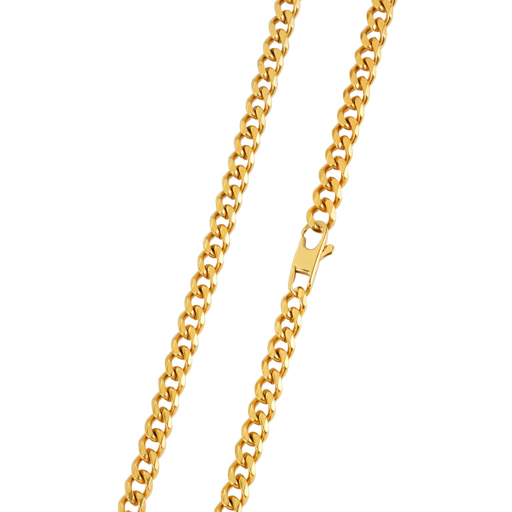 5MM GOLD CUBAN CHAIN