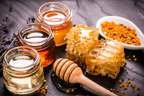 Late Concept - Honey has more benefits for your health than you think!