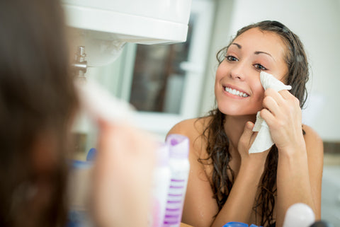 Your eyes must be clean in order to remove your makeup properly