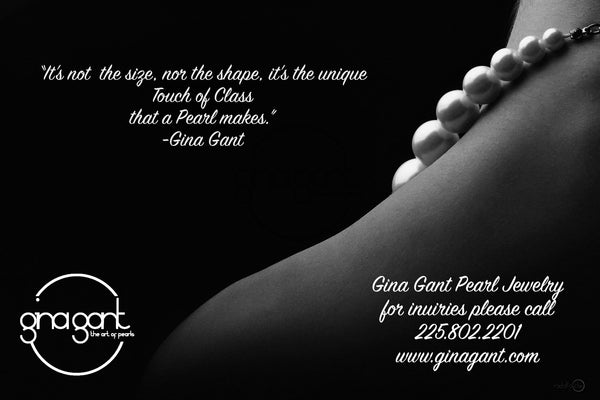 Gina Gant Pearls Blogging...