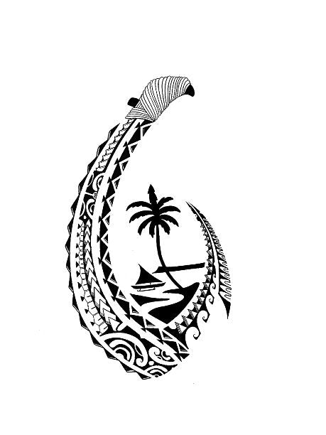 Guam Tribal Hook