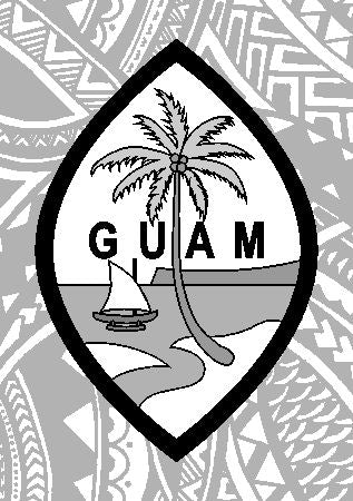 Guam Seal Engrave My Flask