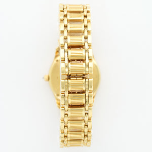 Piaget Polo 22005 18k YG  Excellent Ladies 18k YG White 28mm Quartz 1990s Yellow Gold Bracelet (7 inches) N/A