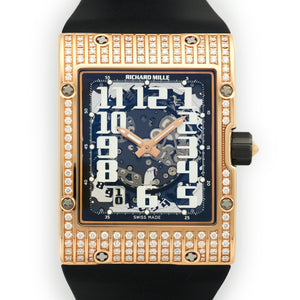 Richard Mille RM16 RM16 18k RG  Unworn Gents 18k RG Skeleton 38mm X 49.8mm Automatic Current Rubber B+P
