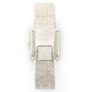 Piaget Vintage 9203 18k WG  Excellent Unisex 18k WG Silver 25mm X 25mm Manual 1970s White Gold N/A