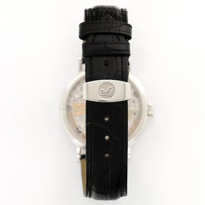 Breguet Tourbillon 3358BB/52/986.DD00 18k WG  Likely Never Polished, Original Finish Unisex 18k WG Mother of Pearl 35mm Manual 2000s Black Crocodile Original Box