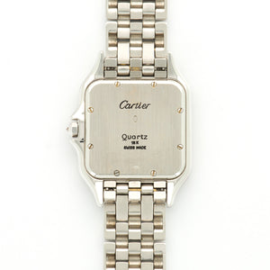 Cartier Panthere N/A 18k WG  Excellent Unisex 18k WG White 29mm Quartz 1990s White Gold Bracelet N/A