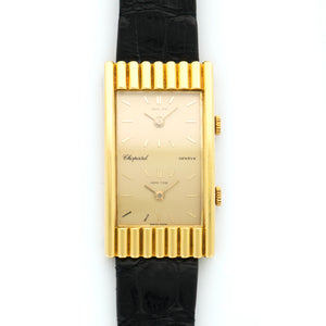 Chopard Kutchinsky Vintage 18k YG  Very Good Unisex 18k YG Gold 21.75 X 38.75mm Manual 1970s Croc N/A