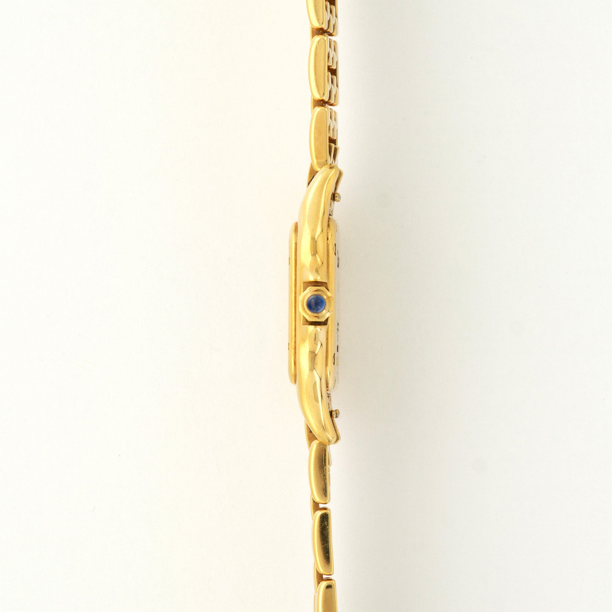 Cartier Panthere N/A 18k YG  Excellent Ladies 18k YG Cream 25mm Quartz 1990s Yellow Gold Bracelet Paper