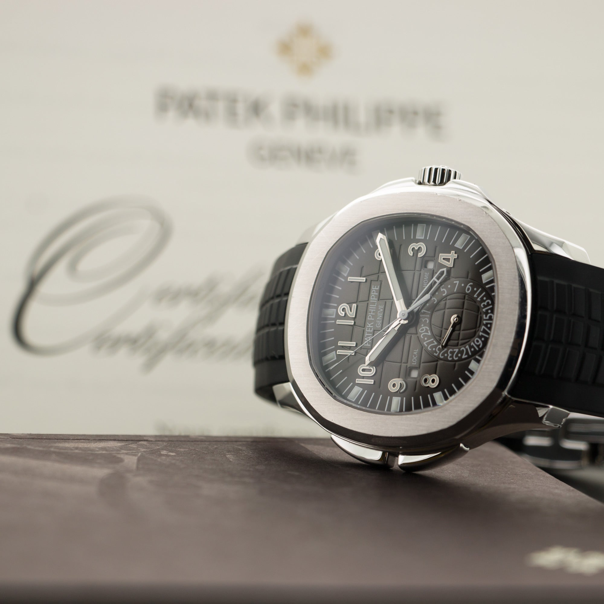Patek Philippe Aquanaut 5164a Steel  Overall Mint Original Condition Gents Steel Black 40.8mm Automatic 2016 Rubber Strap Original Box and Certificate