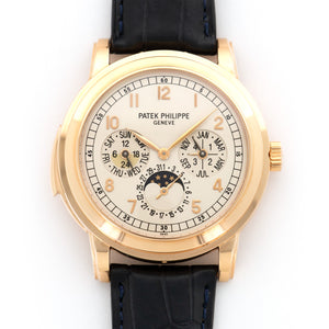 Patek Philippe Grand Complication 5074R 18k RG  Likely Never Polished, Original Finish Gents 18k RG White 41mm Automatic 2011 Brown Crocodile Strap Box, Certificate, and Additional Solid Case Back