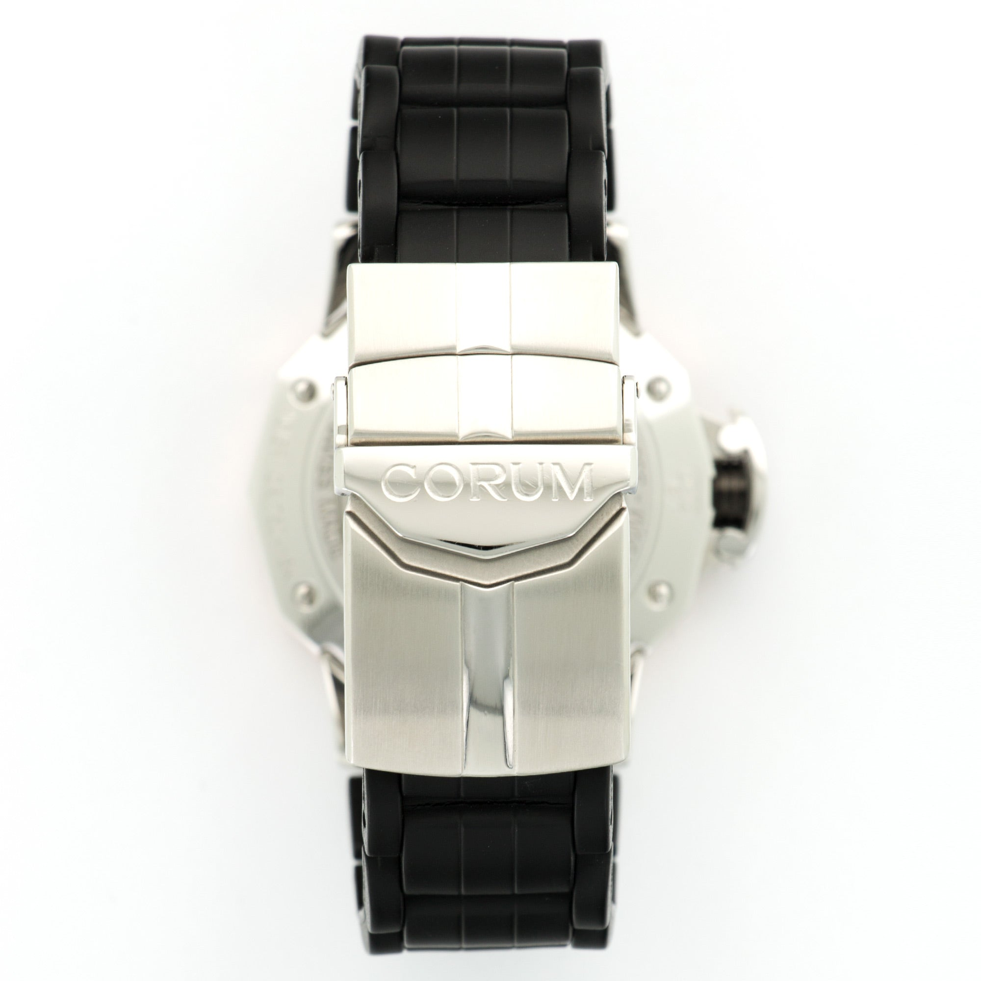 Corum Admirals Cup 082.831.24 SS/RG  Very Good Gents SS/RG Black 41.5mm Automatic 2000s Rubber N/A