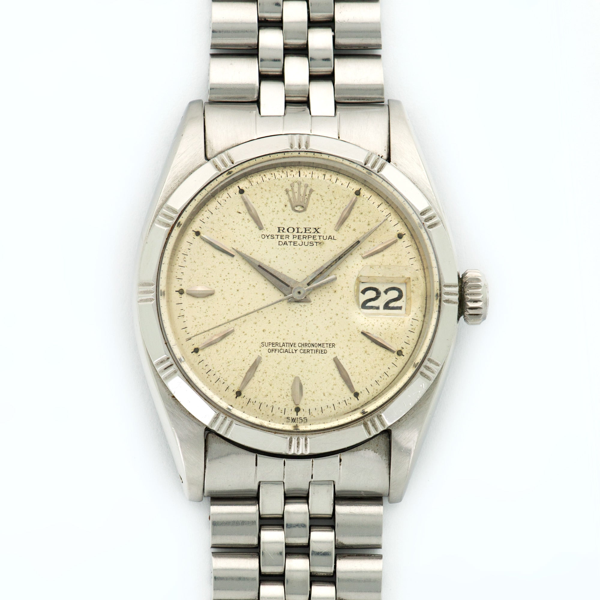 Rolex Datejust 1603 Stainless Steel  Excellent Gents Stainless Steel Silver 36mm Automatic 1960s Stainless Steel Bracelet N/A