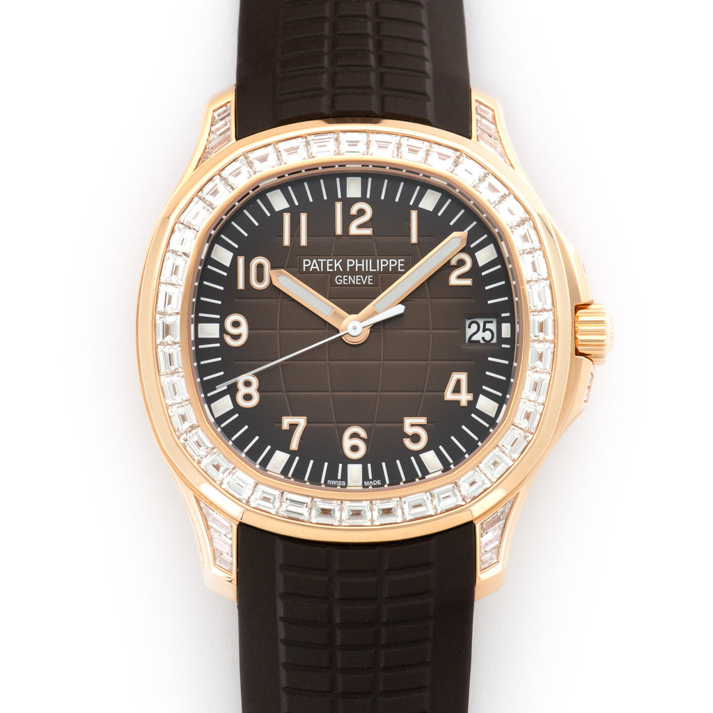 Patek Philippe Aquanaut 5167/300R-010 18k RG  Unworn Unisex 18k RG Brown 40mm Automatic 2018 Rubber Original Box and Certificate