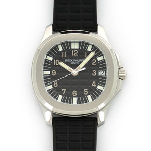 Patek Philippe Aquanaut 5065a Steel  Mint Unisex Steel Black 39mm Automatic Late 1990s Rubber Archive Paper on Order